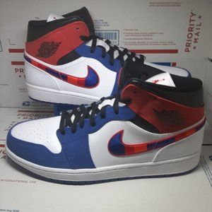 "Jordan 1 Mid SE ""L-Train"" Men's Shoe"
